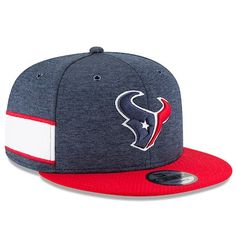 3abe8084dceacc Youth New Era Navy/Red Houston Texans 2018 NFL Sideline Home 9FIFTY  Snapback Adjustable Hat