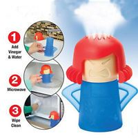 New Metro Angry Mama Microwave Cleaner Kitchen Gadget Tool Home Useful