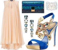 """""""The Pink & The Blue"""" by leiastyle on Polyvore"""
