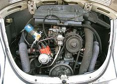 beetle engines - The typical 40 horse motor