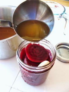 Easy Refrigerator Pickled Beets - gonna make 'em spicy!!