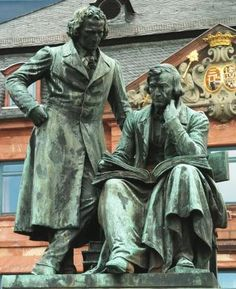 BRüDER GRIMM Tour - in Hessen, Germany. The Brothers Grimm Fairy Tales are known the world over and can be experienced on the mapped Fairy Tail Route by their name from Hanau near Frankfurt North to Bremen.