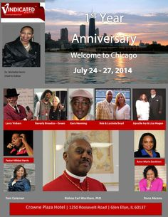 Vindicated Magazine first year anniversary - THE STREETS DON'T LOVE YOU BACK Mark your calendars for July 24-27th 2014...You don't want to miss it. I already told you that Rob Boyd and his wife Lucinda F. Boyd would be with us and supper star Rapper Snoop Dogg mother Author Evangelist Beverly Broadus Green. and more