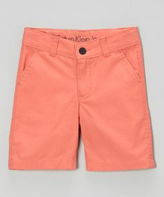 This Tropical Bloom Flat Front Shorts - Infant & Toddler by Calvin Klein Jeans is perfect! #zulilyfinds
