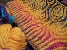 Ravelry: Project Gallery for Lollipop Brioche Hat pattern by Raina K