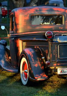 Classic Ford Pickup Print by Dean Ferreira
