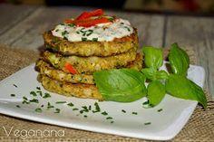 Veganana: Bolinhos de Abobrinha sem Glúten