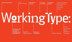 The face of type by Erik Spiekermann | dknown