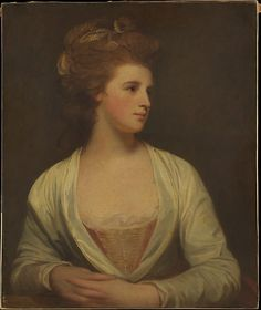 George Romney | Portrait of a Woman, Said to Be Emily Bertie Pott (died 1782) | The Met