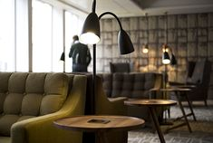 The Club House, Business lounge.  Work in comfort from Hampton Armchairs, Morgan.
