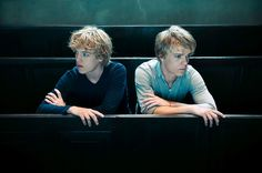 'Behold' - Peter Van Der Heyden. It's about the fascination with the public image, particularly expectations and confirmation. Portrait of two young men, Lucas & Arthur Jussen: best-selling pianists. LensCulture Portrait Awards 2015
