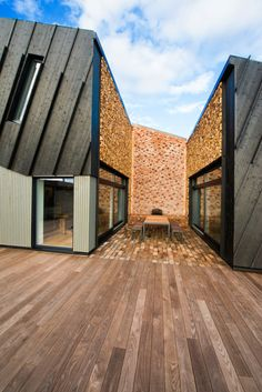 The Plus House Larvik, which was designed to generate an energy surplus that can power an electric car year-round