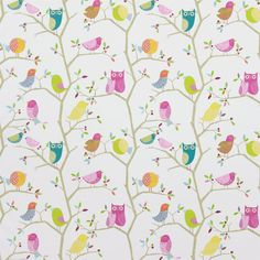 Products | Harlequin - Designer Fabrics and Wallpapers | What A Hoot (HWO03224) | What a Hoot Fabrics