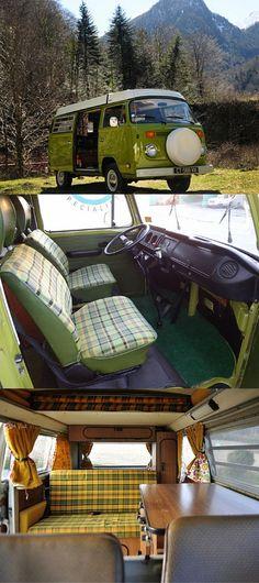 The Green machine Westy 1978 VW Combi #camper #campingvan #camping #vw #vwbus #vwbulli #campanda
