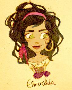 esmeralda deviantart | Esmeralda by epsilonya