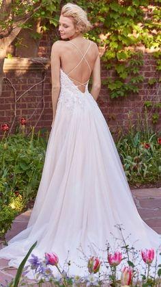 10 Boho Wedding Dresses by Rebecca Ingram - Crisscross, you're a boho boss. Marjorie by Rebecca Ingram.