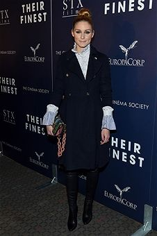 Olivia Palermo attends the Premiere of 'Their Finest' hosted by STXfilms and EuropaCorp with the Cinema Society at SVA Theatre on March 23, 2017 in New York City.