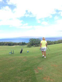 David Ledbetter Golf Academy @ Wailea Golf Club.