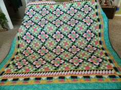 A Slice of My Country Life: Grand Illusion Mystery Quilt ~ My Version