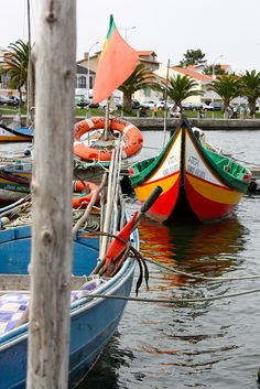 Portuguese boats, via Flickr.