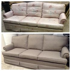 Just a change of fabric has given this sofa a new lease of life! Do you have a similar item of furniture that needs updating? Send us a photo to sales@swupholstery.co.uk to receive a quote.