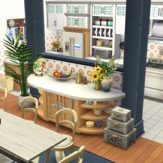 sims Organize Your Life. Sims 4 House Plans, Sims 4 House Building, Building Games, Sims 4 Houses Layout, House Layouts, Tiny House Layout, Sims Four, Sims 2, Sims 4 Family House