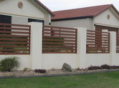 modern fence design philippines | fence | Pinterest | Modern fence ...