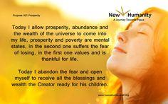 Purpose 821 Prosperity