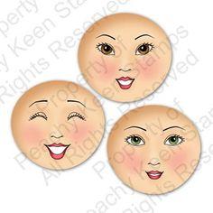 $25.00  PK-590 Blushing Bride Interchangeable Faces
