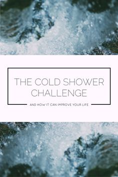 The Cold Shower Challenge Can Seriously Improve Your Life, I Promise! Cold Shower, Beautiful Things, Mental Health, Improve Yourself, About Me Blog, Challenges, Posts, Life, Messages