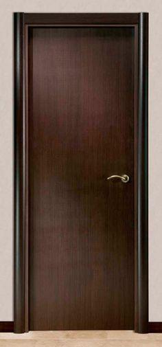 M027 1 puerta doble de entrada de madera con acero for Modelos de puertas de madera para interiores