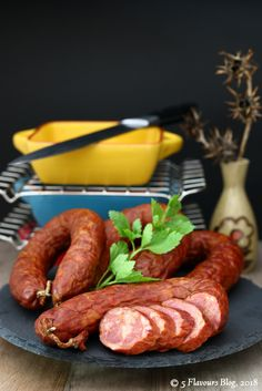 Sliced Chorizo – Front view