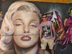 Marilyn in santiago de Chile. By Marcelo Molina Mora