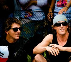 Bruce and Andy Irons. My brothers keeper RIP Andy
