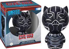 Marvel Captain America Civil War Black Panther Dorbz Action Figure