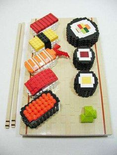 Lego Sushi - The Work of Nathan Sawaya (GALLERY)