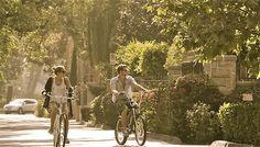 two on bikes