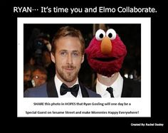 Ryan.... It's time you and Elmo Collaborate.
