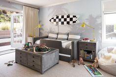 Kinderzimmr mit Surf-Thema einrichten und dekorieren