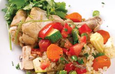 Kick-start your healthy week with this chicken hot pot recipe :)