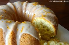 Gluten Free Coconut Orange Bundt Cake