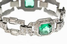 Value of Your Jewelry & Watches with These Online Price Guides: Vintage 1920s Art Deco Bracelet