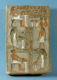 Stele of Kemes. Ancient Egypt Civilization, Life In Ancient Egypt, Ancient History, Temples, Kunsthistorisches Museum Wien, Egyptian Hieroglyphs, Classical Art, Art Blog, Archaeology