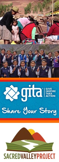 Sacred Valley Project is spreading education to the most remote tribes, a cause Bhakti truly believes in. Nominate and organization you care about to get involved in our GITA program. Give, Inspire and Take Action!