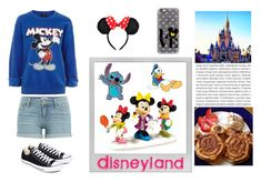 """Disneyland!!"" by kukikorner808 ❤ liked on Polyvore featuring Polaroid, Hot Topic, Department 56, Topshop, Paige Denim, Converse, Oris and Casetify"