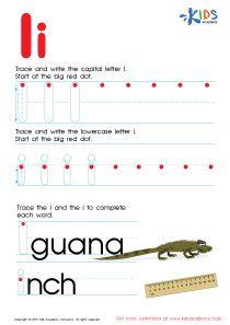 ABC Alphabet Worksheets   Letter L Tracing PDF   damian   Pinterest ...