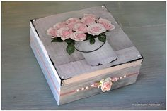 Decoupage, Boxes, Wooden Crates