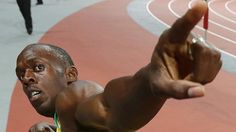 Usain Bolt, don't know who made this portrait but I think it's great