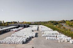 Stock de big-bag de #plastiques chez #Paprec Plastiques 49. #recycling #recycler   http://www.paprec.com/fr/comprendre-recyclage/recyclage-plastique/cycle-du-recyclage-du-pvc