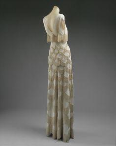 twenties gowns vionnet